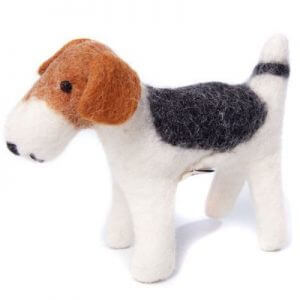 Amica Soft Toy Fox Terrier