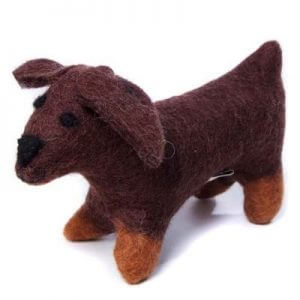 Amica Soft Toy Sausage Dog