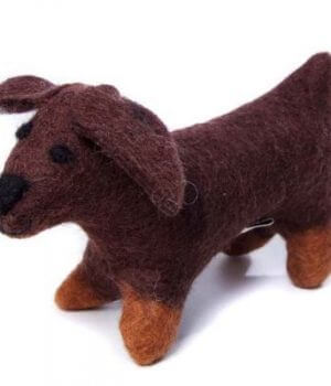 Amica Soft Toy - Sausage Dog
