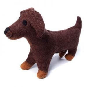 Amica Soft Toy Large Sausage Dog