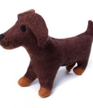 Amica Soft Toy Large - Sausage Dog