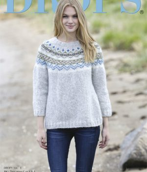 Drops 166 Knitting & Crochet Pattern Catalogue - Was £1 - limited time special offer!