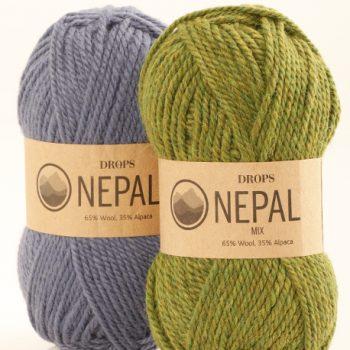 Drops Nepal - 65% Wool 35% Alpaca