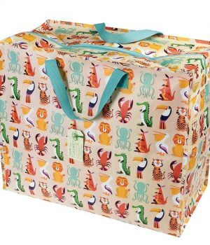 Recycled Storage/Toy Bag - More Designs Available