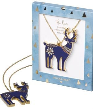 Folklore Deer Necklace