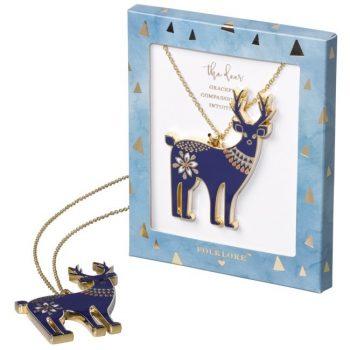 Folklore Deer Necklace