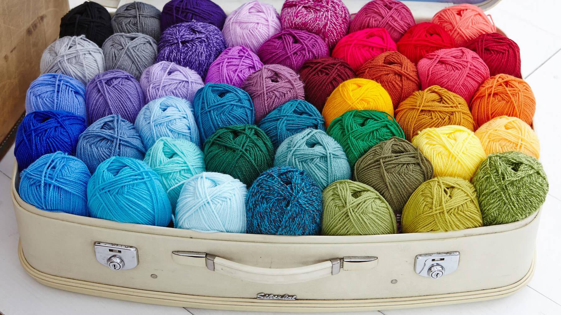 wool fabric and haberdashery bibelot
