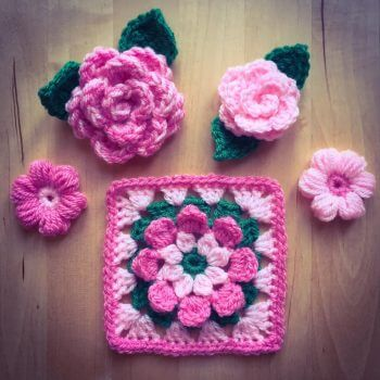 Next Steps Crochet Flower Workshop Bibelot Leek Saturday 18th March