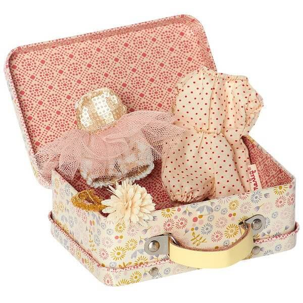 Maileg Girls Suitcase & Clothes