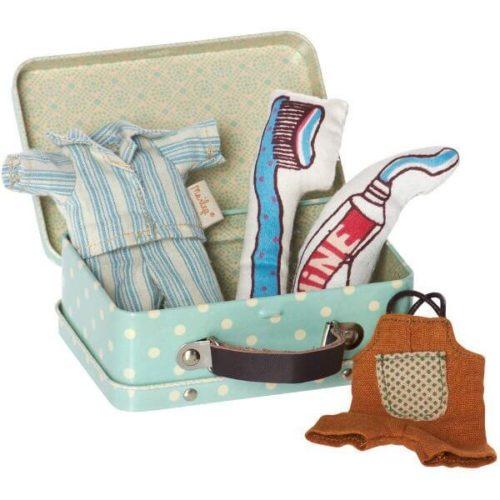 Maileg Bedtime Suitcase & Clothes