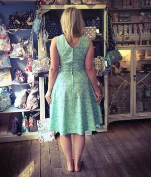 make a dress in a day workshop bibelot leek