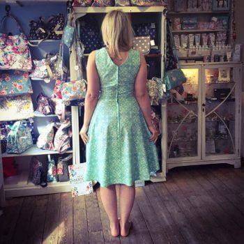 make a dress in a day workshop bibelot leek