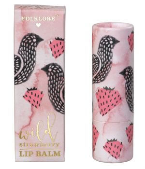 Folklore Lip Balm Strawberry