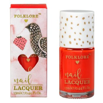 Folklore Nail Lacquer Raspberry