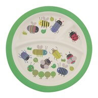 Busy Bugs Kids Plate