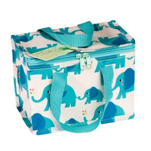 Recycled Insultaed Lunch Bag Elvis Elephant