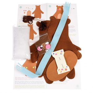 Make Your Own Teddy Bear Felt Kit