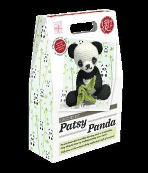 The Crafty Kit Company Crochet Kit Patsy Panda