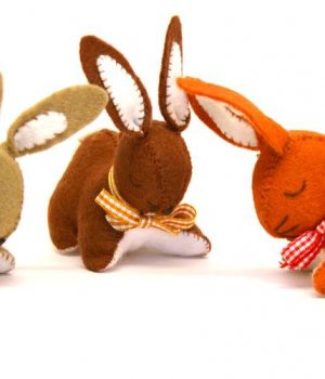 Corinne Lapierre Felt Craft Kit Bunnies