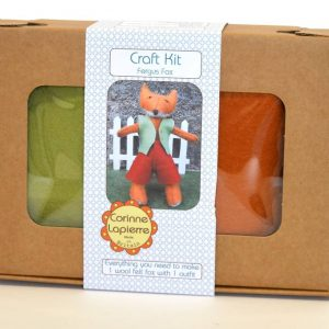 Corinne Lapierre Felt Craft Kit Fergus Fox