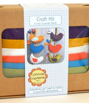 Corinne Lapierre Felt Craft Kit Summer Birds