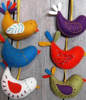 Corinne Lapierre Felt Craft Kit Summer Birds