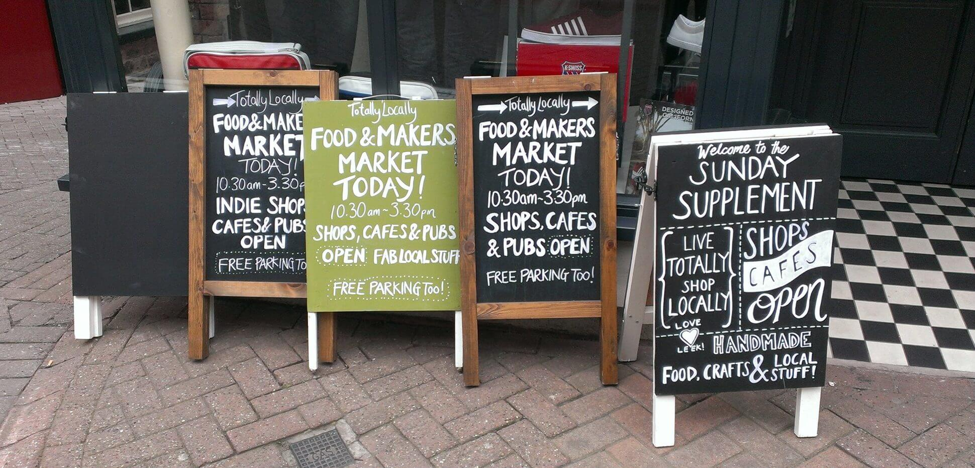 leek market sunday sunday supplement art craft food