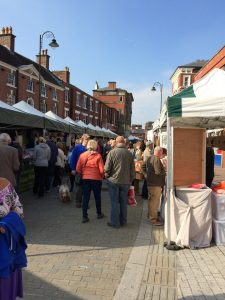 leek market town sunday supplement art craft food local