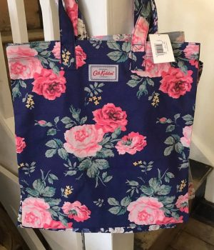 Cath Kidston Antique Rose Cotton Bookbag