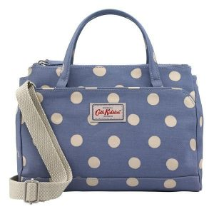 Cath Kidston Button Spot Mini Multi Pocket Handbag