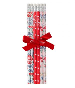 Cath Kidston Holland Park Flowers 6 Pack of Pencils