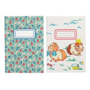 Cath Kidston Pets Party 2 Pack Note Pad