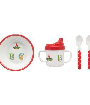 Cath Kidston Animal Alphabet Melamine Nursery Set
