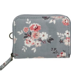 Cath Kidston Wells Rose Zipped Travel Purse
