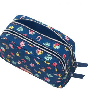 Cath Kidston Good Luck Charms Poly Double Zip Pouch