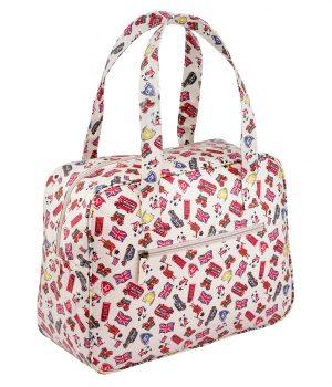Cath Kidston London Stamps Large Boxy Bag