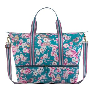 Cath Kidston Meadowfield Birds Foldaway Double Decker Travel Bag