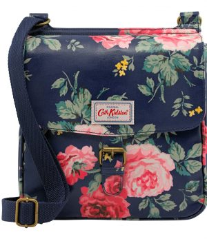 Cath Kidston Antique Rose Tab Saddle Bag