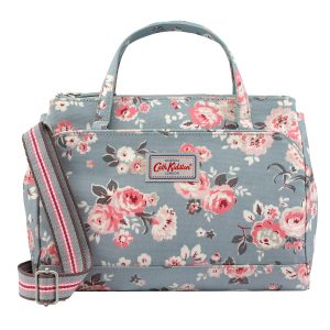 Cath Kidston Wells Rose Mini Multi Pocket Handbag