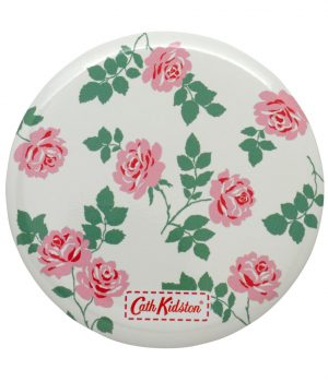 Cath Kidston Small Brooke Rose Pocket Mirror