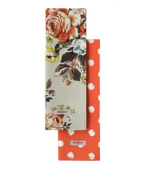 Cath Kidston Hampstead Rose Set of Two Tea Towels