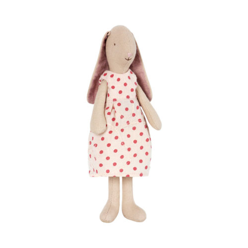 Maileg Mini Bunny Elvira with Spotty Dress