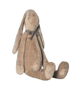 Maileg brown soft bunny toy medium