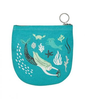 Sea Spray half moon pouch