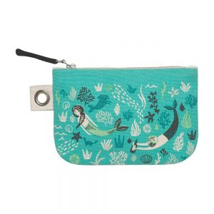 Danica Studio sea spell mermaid purse small zipper pouch