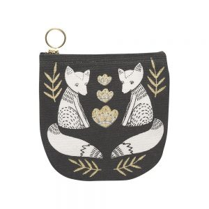 New Danica Studio Products Wild tales fox half moon purse
