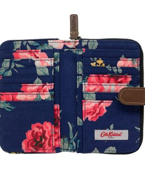 Cath Kidston Antique Rose Folded Zip Wallet