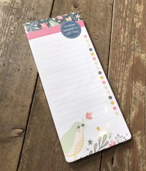 art file magnetic notes wild berry
