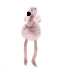 Best Years Small Pink Flamingo Baby Rattle