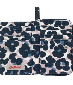 Cath Kidston Leopard Flower Pocket Purse